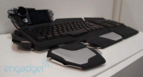 Bàn phím siêu tùy biến từ Mat Catz dành cho game thủ