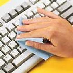 Cách làm vệ sinh bàn phím của máy vi tính