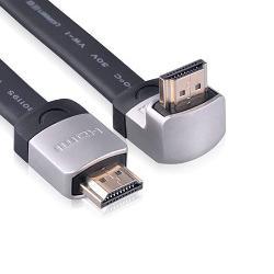 Cáp HDMI Ugreen HD122 mỏng dẹt, đầu bẻ góc vuông 90 độ