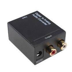 Hướng dẫn kết nối âm thanh quang Optical sang loa có kết nối RCA