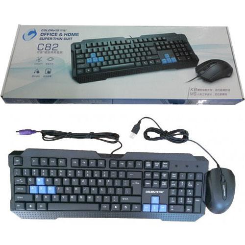 Bộ bàn phím và chuột colorvis c82