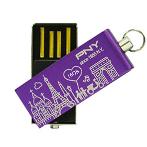 USB PNY 16GB Lovely Attache City PN038