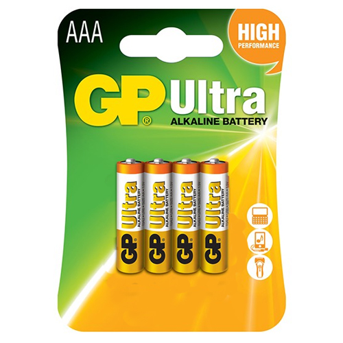 Pin AAA GP Ultra Alkaline 24AU U4