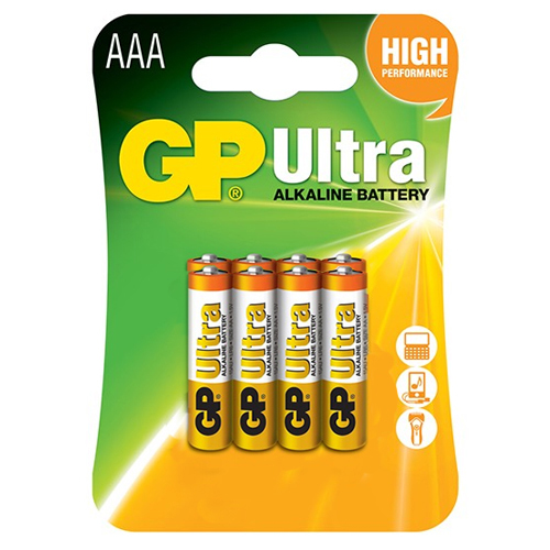 Pin AAA GP Ultra Alkaline 24AU U8