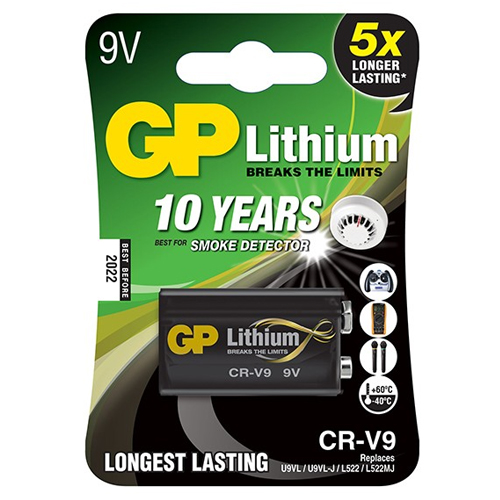 Pin 9V GP Lithium CR-V9SD-U1