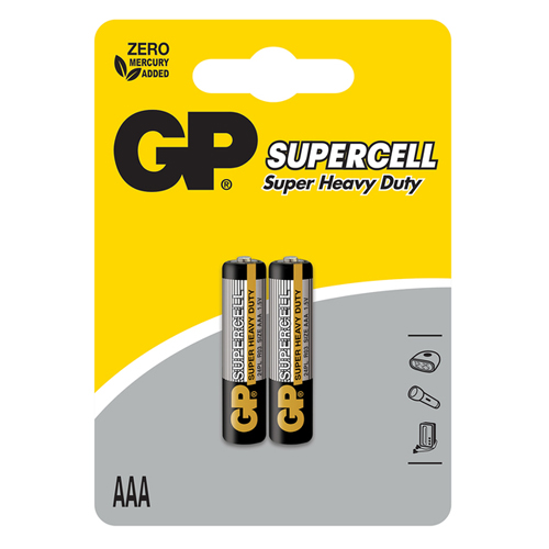 Pin AAA 1.5V GP Supercell 24PL-S2