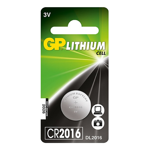 Pin Cmos GP Lithium coin CR2016