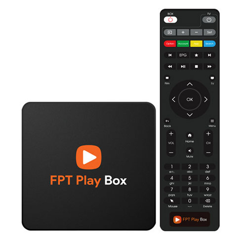 FPT play box hỗ trợ 4k - FPT box 2018