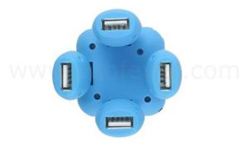 HUB CHIA CỔNG USB 2.0 1 RA 4 ĐỒNG HỒ