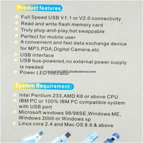 Đầu đọc thẻ SD/MMC FD-184