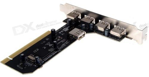 Card PCI to 4usb 2.0 - Card chuyển PCI ra USB