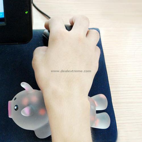 Bàn di chuột Quang kiểu kê tay hình thú
