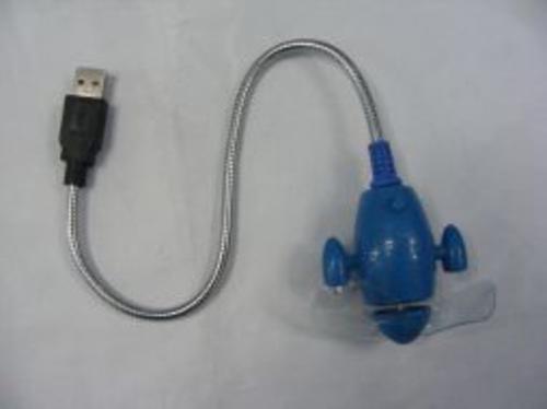 Quạt làm mát  cắm cổng USB FOXDIGI LF325 - đồ chơi laptop loại quạt điện cắm cổng USB