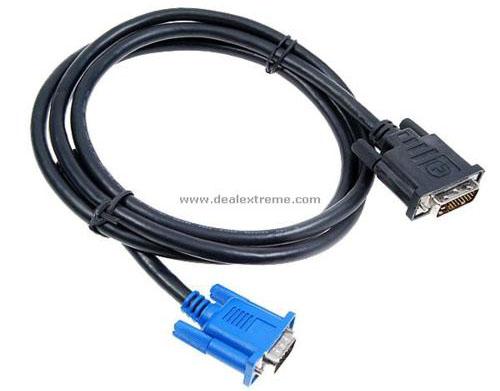 Dây cáp chuyển đổi DVI 24+1 sang  VGA