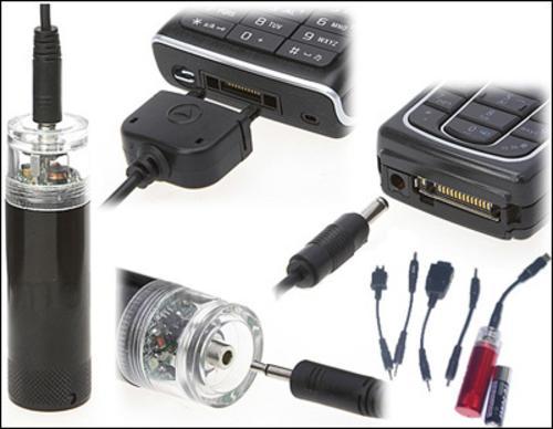 Sạc điện thoại bằng pin tiểu - Cục sạc điện thoại di động