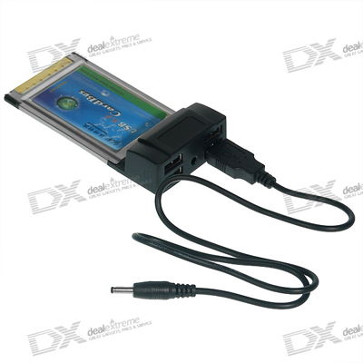 card PCMCIA to USB (card laptop)