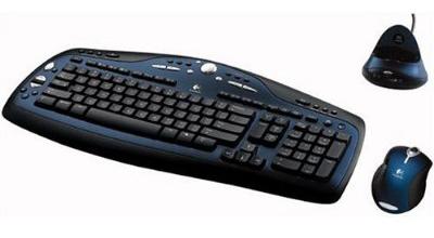 Bộ bàn phím chuột không dây laser Logitech MX 3100