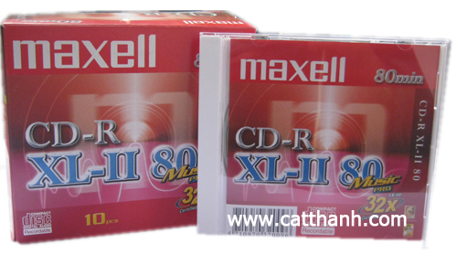Đĩa CD-R Maxell XL-II 80