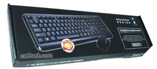 Bộ bàn phím chuột không dây Dell 8023