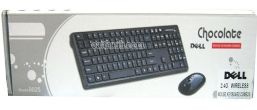 Bàn phím chuột không dây Dell 8025