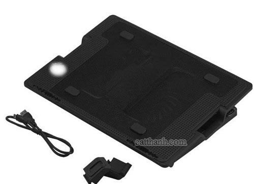 Đế tản nhiệt laptop nhựa mica FOXDIGI KLG-928