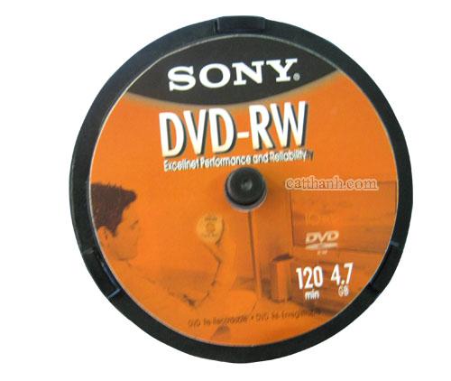 Đĩa DVD-RW Sony