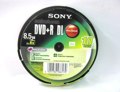 Đĩa DVD-R DL  Sony