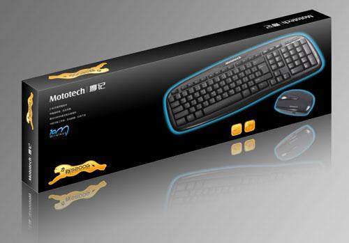 Bộ bàn phím chuột không dây Mototech S200G
