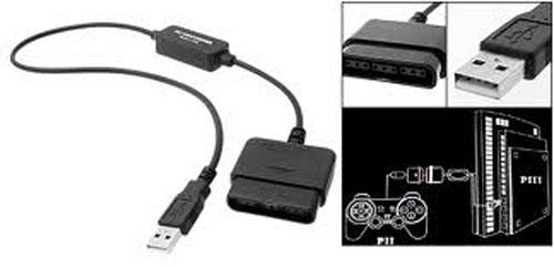Giắc chuyển USB to PS2/PS3 & PC Controller Converter