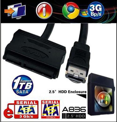 HDD Box Esata 2.5'