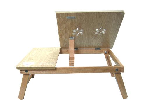 Bàn laptop gỗ Sồi