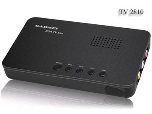 TV BOX xem tv tren may tinh Gadmei 2810E - TV BOX xem tv tren may tinh, Gadmei, TV BOX xem tv tren may tinh Gadmei, TV box LCD xem tivi bằng LCD máy tính
