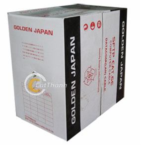Cáp mạng Golden Japan CAT6E
