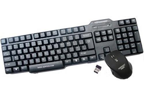 Bộ bàn phím & chuột không dây Nopoos KM-0385