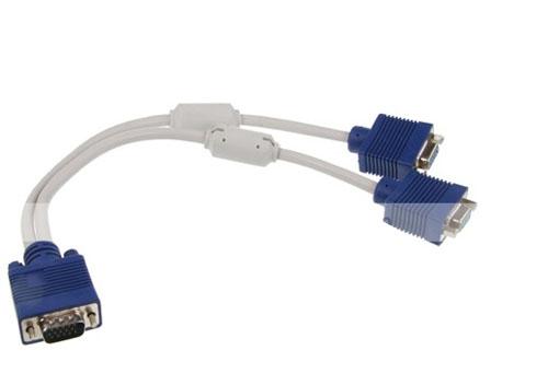 Cáp chia 1 VGA ra 2 VGA