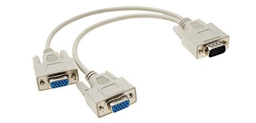 Cáp chia  VGA 1 ra 2