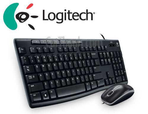 Bộ bàn phím chuột MEDIA COMBO LOGITECH MK200