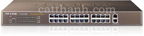 Switch 24 port TP Link TL-SL1226 10/100Mbps 2 Cổng giabit