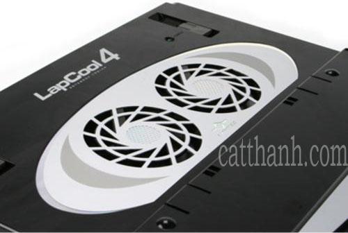Quạt làm mát laptop LAPCOOL4 - bàn kê tản nhiệt  Gập xếp gọn