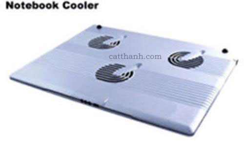 Đế tản nhiệt laptop - quạt làm mát laptop FOXDIGI 675