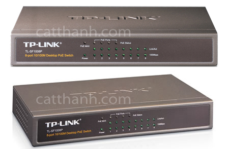 Switch TP Link 8 port PoE TL-SF1008P