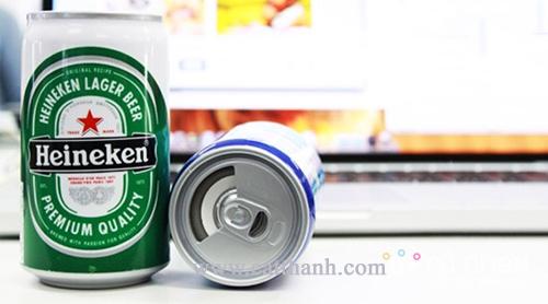 Loa laptop-loa laptop mini hình lon bia