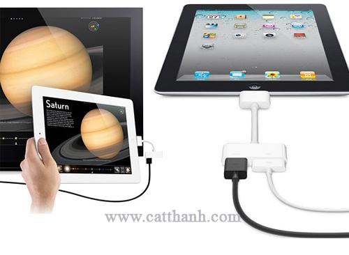 Cáp kết nối HDMI cho The new iPad,iPad 2,iPhone 4 4S Chính hãng
