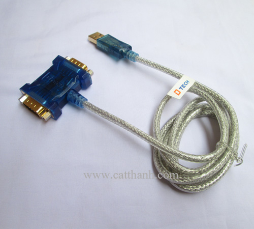 cáp usb to 2 port com DT 5024