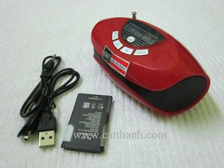 Loa máy tính thẻ nhớ USB Foxdigi Q7