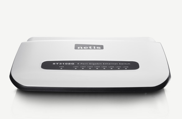 Switch mạng netis Gigabit 8 pord Ethernet ST3108G