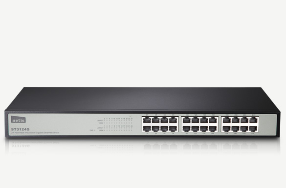 Switch mạng gigabit 24 port netis ST3124G