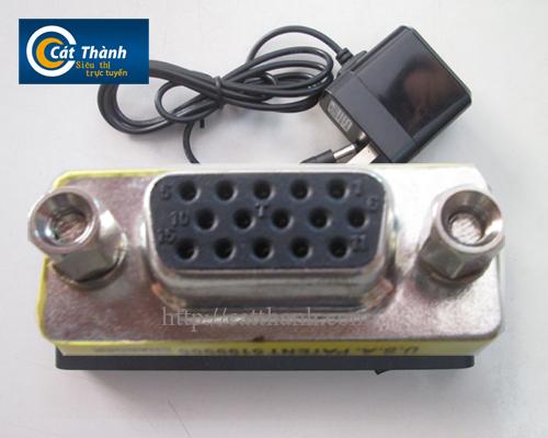 Cổng nối dài cáp VGA 2 đầu âm