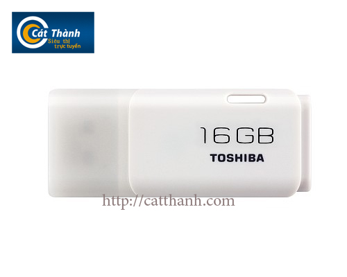 Usb Toshiba hayabusa modell 16GB trắng