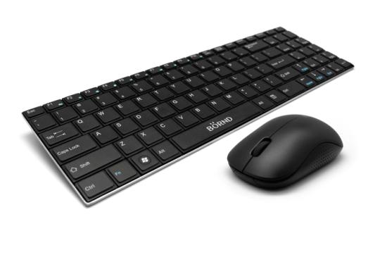 Bộ bàn phím chuột không dây Bornd E550